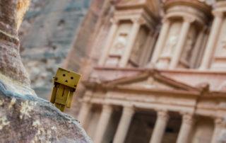Danbo en Petra, Jordania