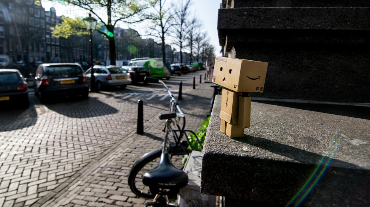 Danbo en Amsterdam