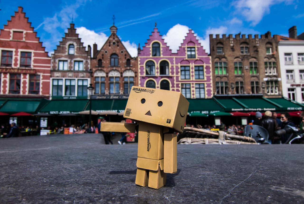 Danbo en Brujas, Bruselas