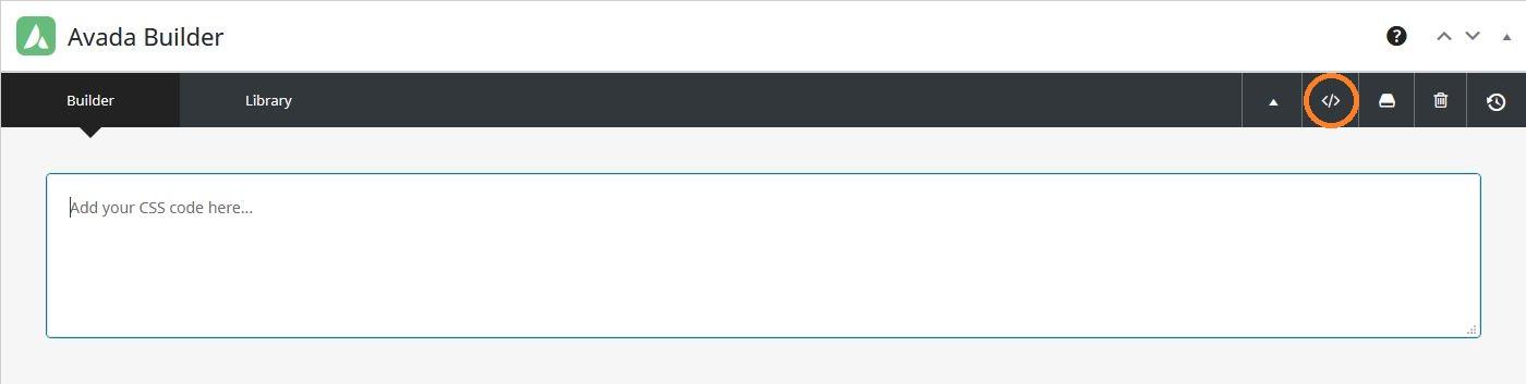 Añadir CSS en una página de Avada