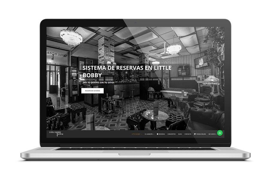 Diseño web para Little Bobby