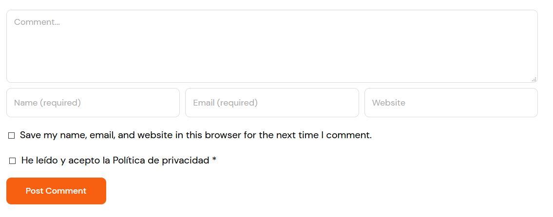 Traducir comentarios de Wordpress