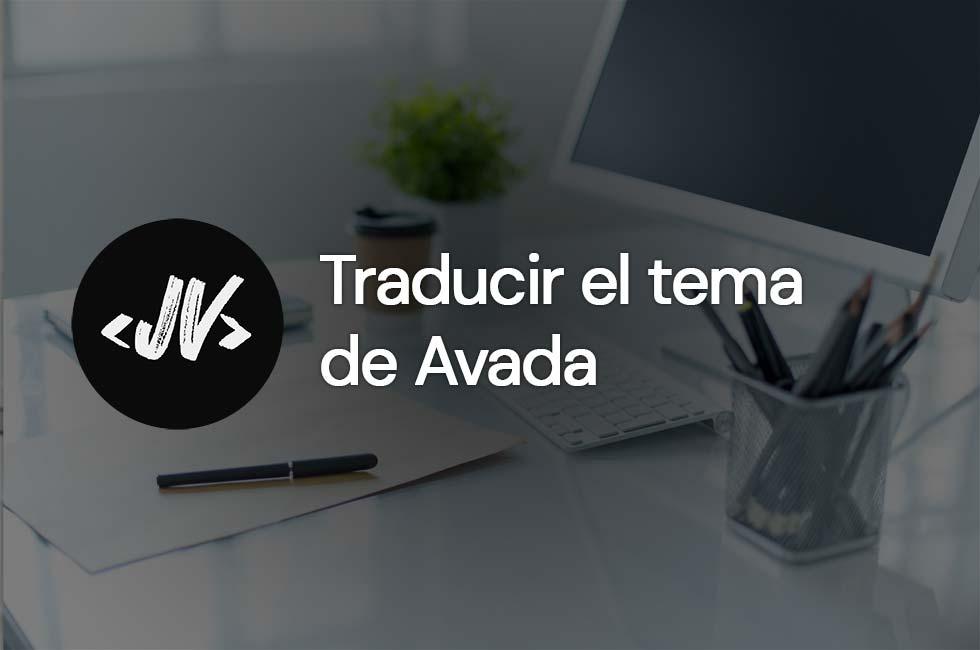 Cómo traducir el tema de Avada