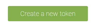 Create a new token Avada