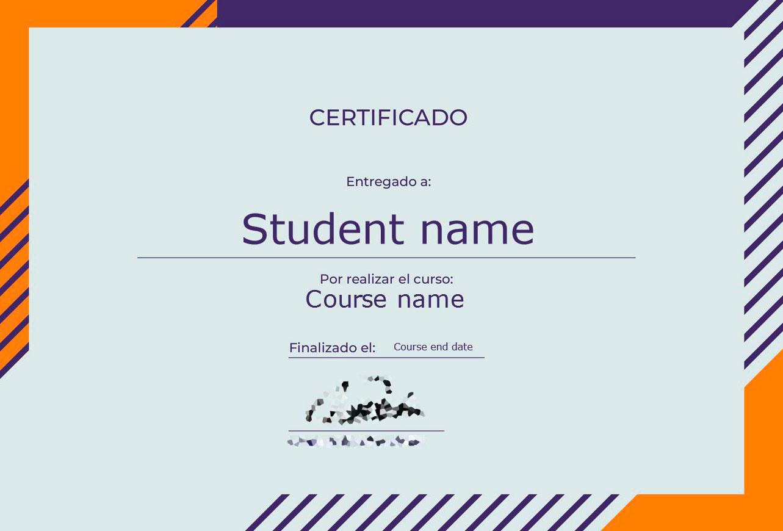 Certificado de LearnPress