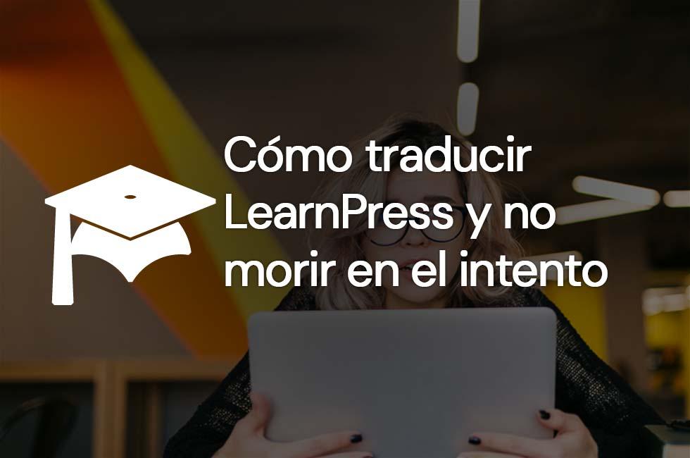Cómo traducir LearnPress