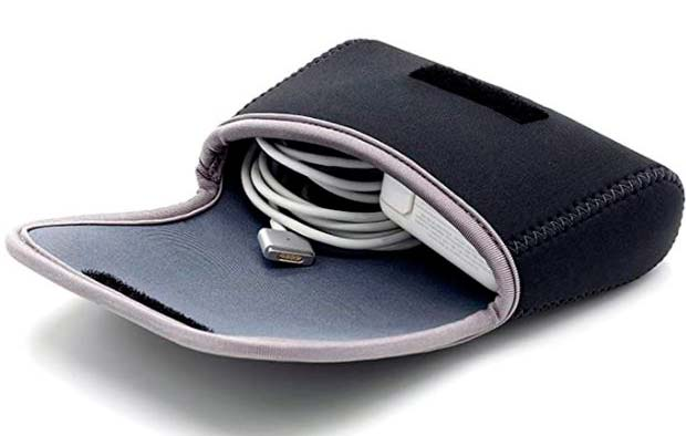 Funda cargador portátil macbook