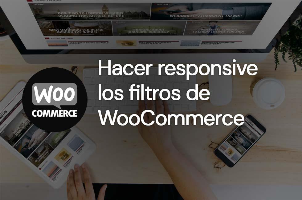 Cómo hacer responsive los filtros de WooCommerce