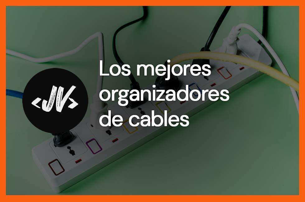 Mejores organizadores de cables