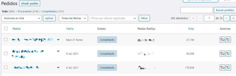 Descargar factura desde WordPress